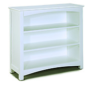 Bolton Furniture Wakefield LowLoft Bookcase White