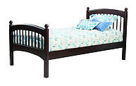 Bolton Furniture Windsor Twin Bed Espresso