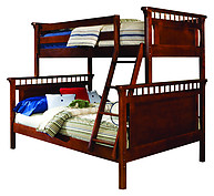 Bolton Furniture Bennington Twin over Full Bunk Bed Cherry