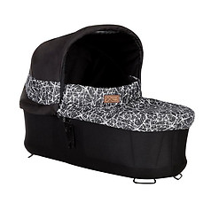 Mountain Buggy Carrycot Plus for Urban Jungle, Terrain, +One Graphite
