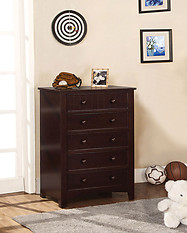 Furniture of America Omnus Chest Dark Walnut