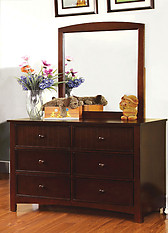 Furniture of America Omnus Dresser Dark Walnut