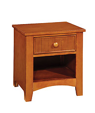 Furniture of America Omnus Nightstand Oak