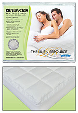 Innomax Cotton Plus Natural & Breathable Mattress Pad
