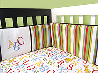 Trend Lab Dr. Seuss ABC 4PC Bumper Set
