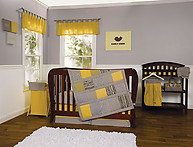 Trend Lab Hello Sunshine 3PC Crib Bedding Set
