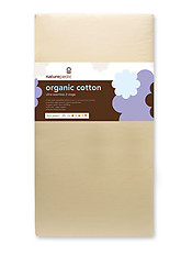Naturepedic Organic Cotton Ultra 252 Seamless 2-Stage Crib Mattress