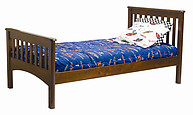 Bolton Furniture Mission Bed Cherry