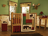 Trend Lab Northwoods 3PC Crib Bedding Set