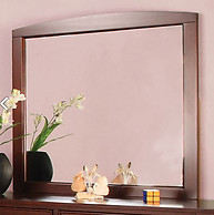 Furniture of America Omnus Mirror Cherry