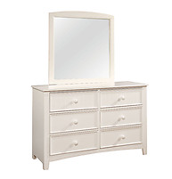 Furniture of America Omnus Dresser White
