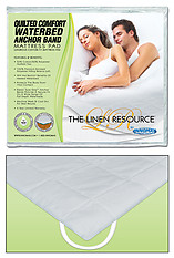 Innomax Quilted Comfort Waterbed Anchor Band Custom Mattress Pad