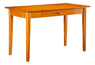 Atlantic Furniture Shaker Desk with Drawer Caramel Latte
