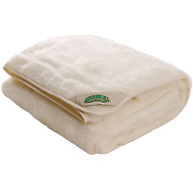 NaturaWool Reversible Wool on Top Mattress Pad