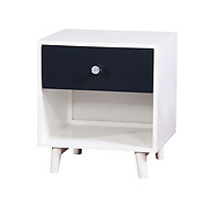 Furniture of America Alivia Nightstand Blue & White