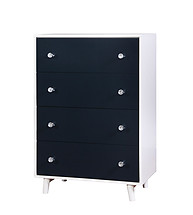 Furniture of America Alivia Chest Blue & White