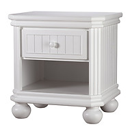 Sorelle Furniture Finley Nightstand White