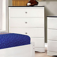 Furniture of America Kimmel Chest Blue & White