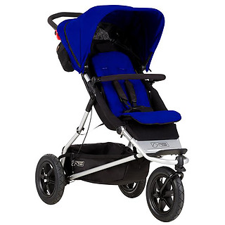 Mountain Buggy +One Stroller Marine