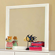 Furniture of America Prismo Mirror White