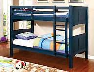 Furniture of America Prismo II Bunk Bed Blue
