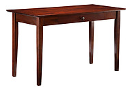 Atlantic Furniture Shaker Desk with Drawer Antique Walnut