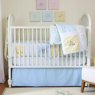Little Acorn Sweet Pea 3-piece Bedding Set