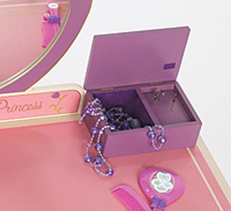Princess Vanity Table Chair Set