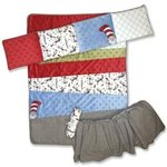 Dr. Suess Cat in the Hat Crib Set by Trend Lab