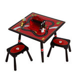Firefighter Table & 2 Stool Set