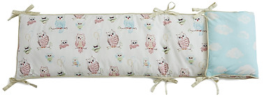 Little Acorn Baby Owls Bumper
