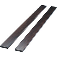 Sorelle Furniture Adult Bed Rails 215 Espresso