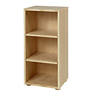 Maxtrix Low Narrow 3 Shelf Bookcase