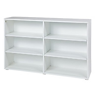 Maxtrix Low 6 Shelf Bookcase