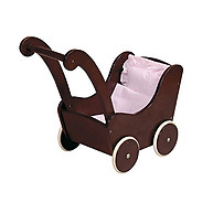 Guidecraft Doll Buggy Espresso