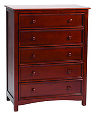 Bolton Furniture Wakefield 5 Drawer Chest Cherry