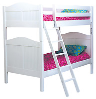 Bolton Furniture Wakefield Cottage Twin over Twin Bunk Bed White