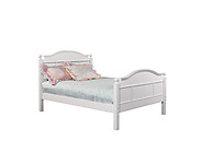 Bolton Furniture Emma Full Bed with Tall Headboard White