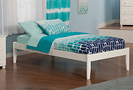 Atlantic Furniture Concord Bed Twin XL White