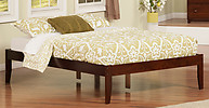 Atlantic Furniture Concord Bed Full Antique Walnut