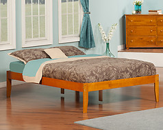 Atlantic Furniture Concord Bed Full Caramel Latte