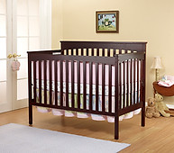 SB2 Furniture Annie Petite Crib Cherry