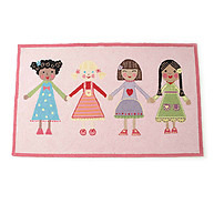Little Acorn Best Friends Rug