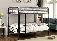 Furniture of America Brocket Bunk Bed Gun Metal