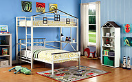 Furniture of America Fortress Twin Loft Bed