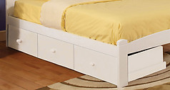 Furniture of America Omnus Drawers White