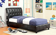 Furniture of America Hendrik Bed Espresso