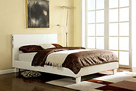 Furniture of America Evans Bed White