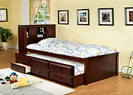 Furniture of America South Land Bed Cherry
