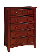 Furniture of America Omnus Chest Cherry